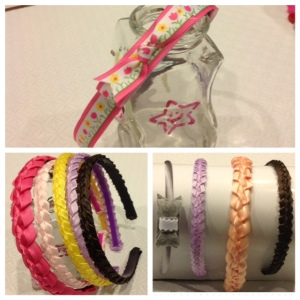 06 Ribbon headbands