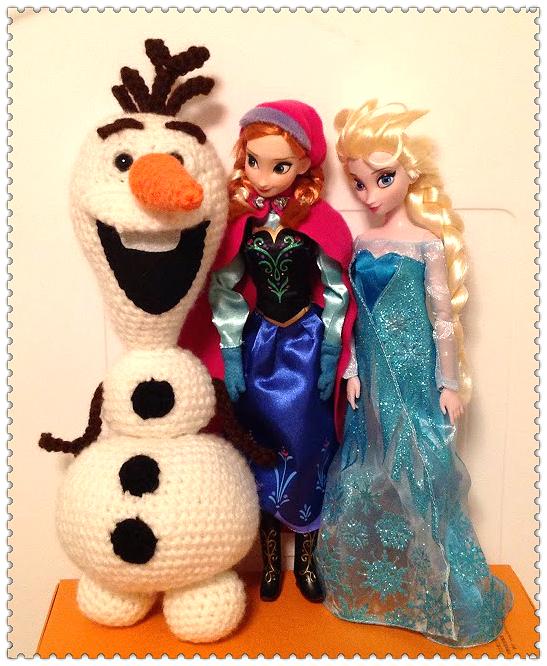 Crochet Doll Cradle Purse Pattern : Pattern Crochet Amigurumi Olaf the Snowman from Disney ...