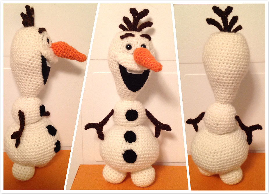 Pattern ? Crochet Amigurumi Olaf the Snowman from Disney ...